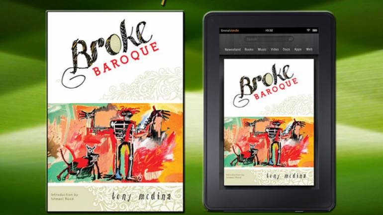 Tony Medina Publishes Broke Baroque, Available in Print and Kindle