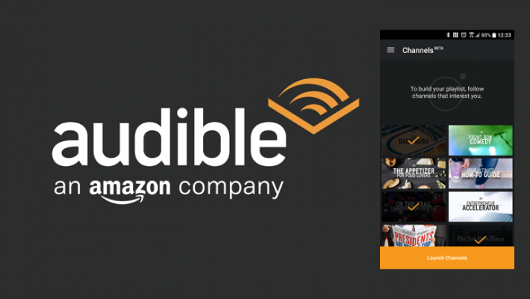 Amazon extends their dominance with Audible Channels